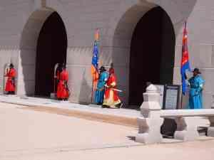 Gyeongbokgung Palace Guards, Seoul by Honi Gibson