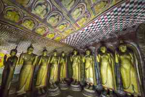 Dambulla Caves by David Hein