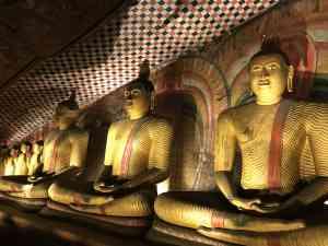 Dambulla Cave Temple, Sri Lanka by Zoe Francis