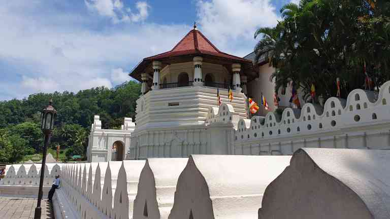 The Temple of the Sacred Tooth Relic, Kandy, Sri Lanka by Dennis Bunnik