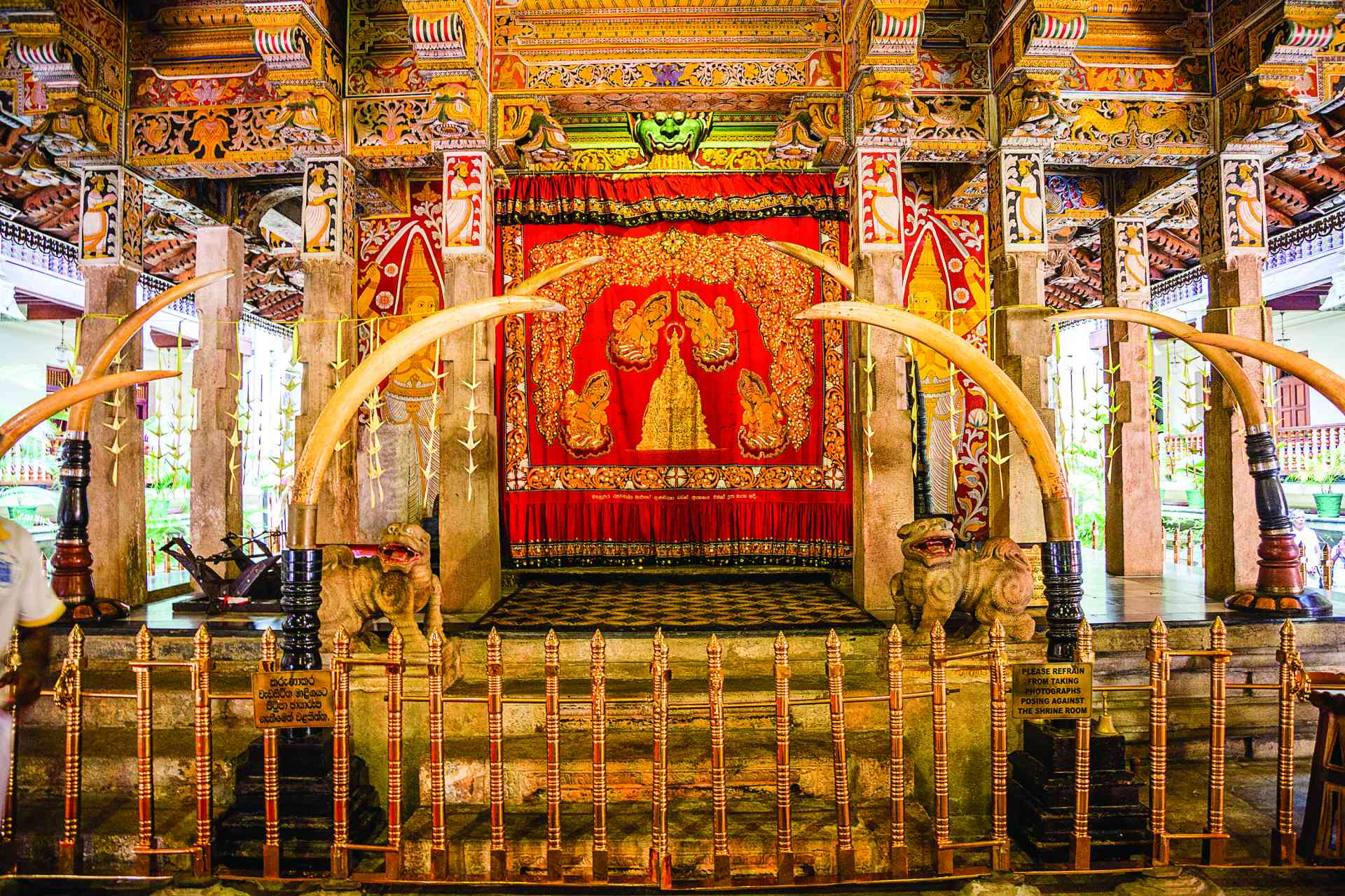 Temple of the Sacred Tooth Relic, Kandy, Sri Lanka by Graham Meale