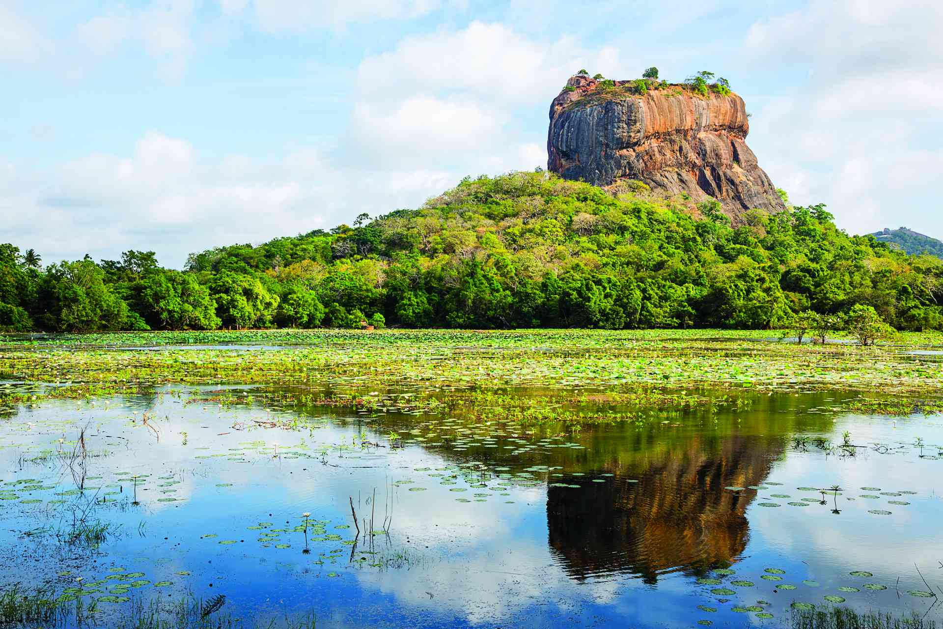 Lion Rock, Sigiriya, Sri Lanka by Graham Meale