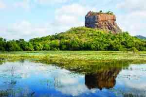 Lion Rock, Sigiriya, Sri Lanka by Graham Meale