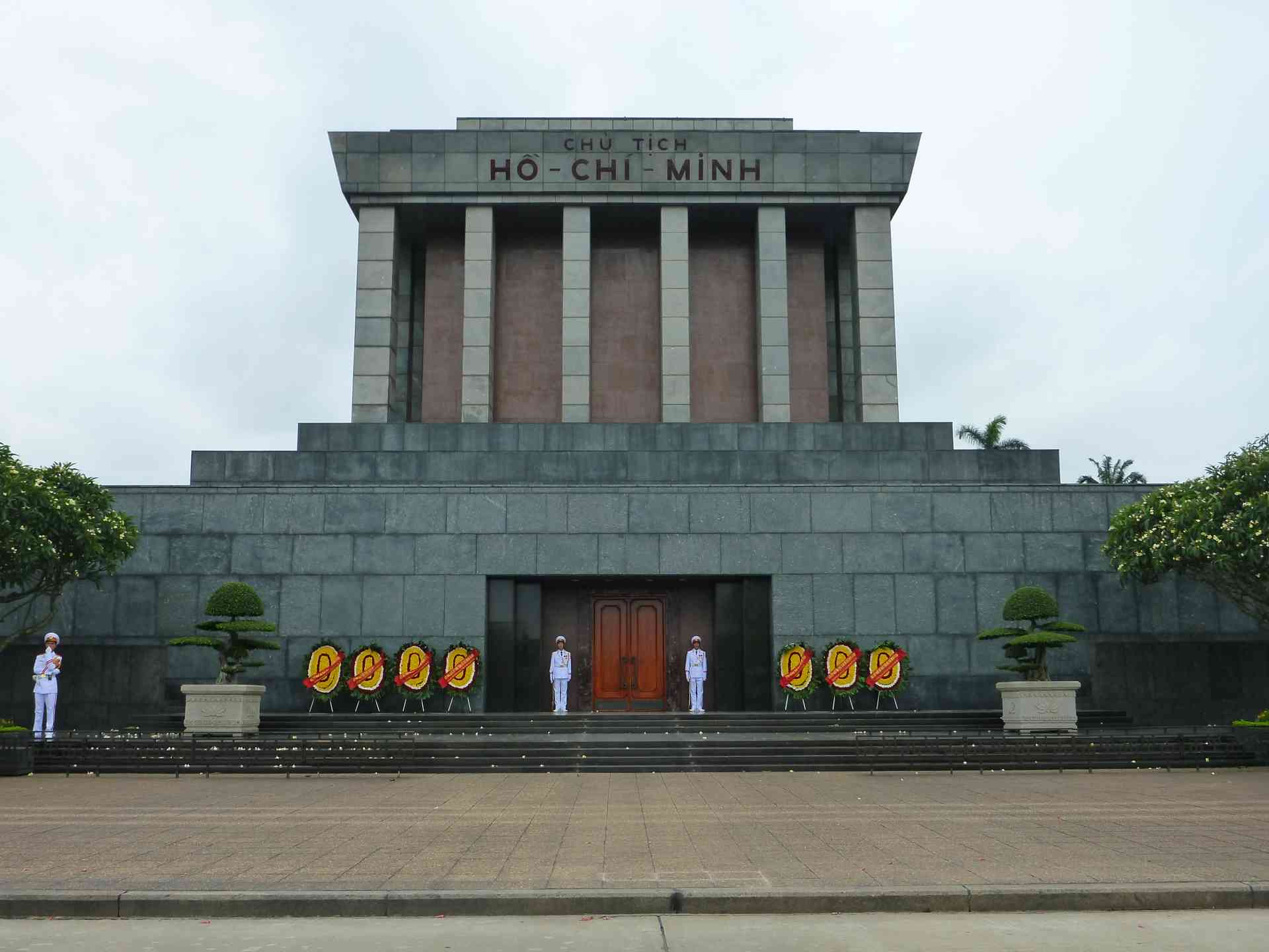 Ho Chi Minh Mausoleum by Nick Lowes