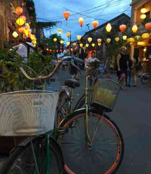 Hoi An at night, Vietnam by Abbie Bell