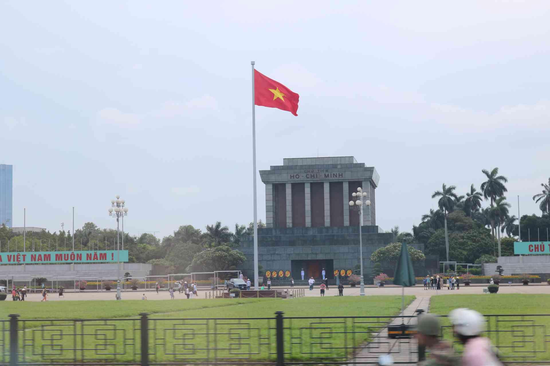Ho Chi Minh Mausoleum, Vietnam by Kristi Rutten