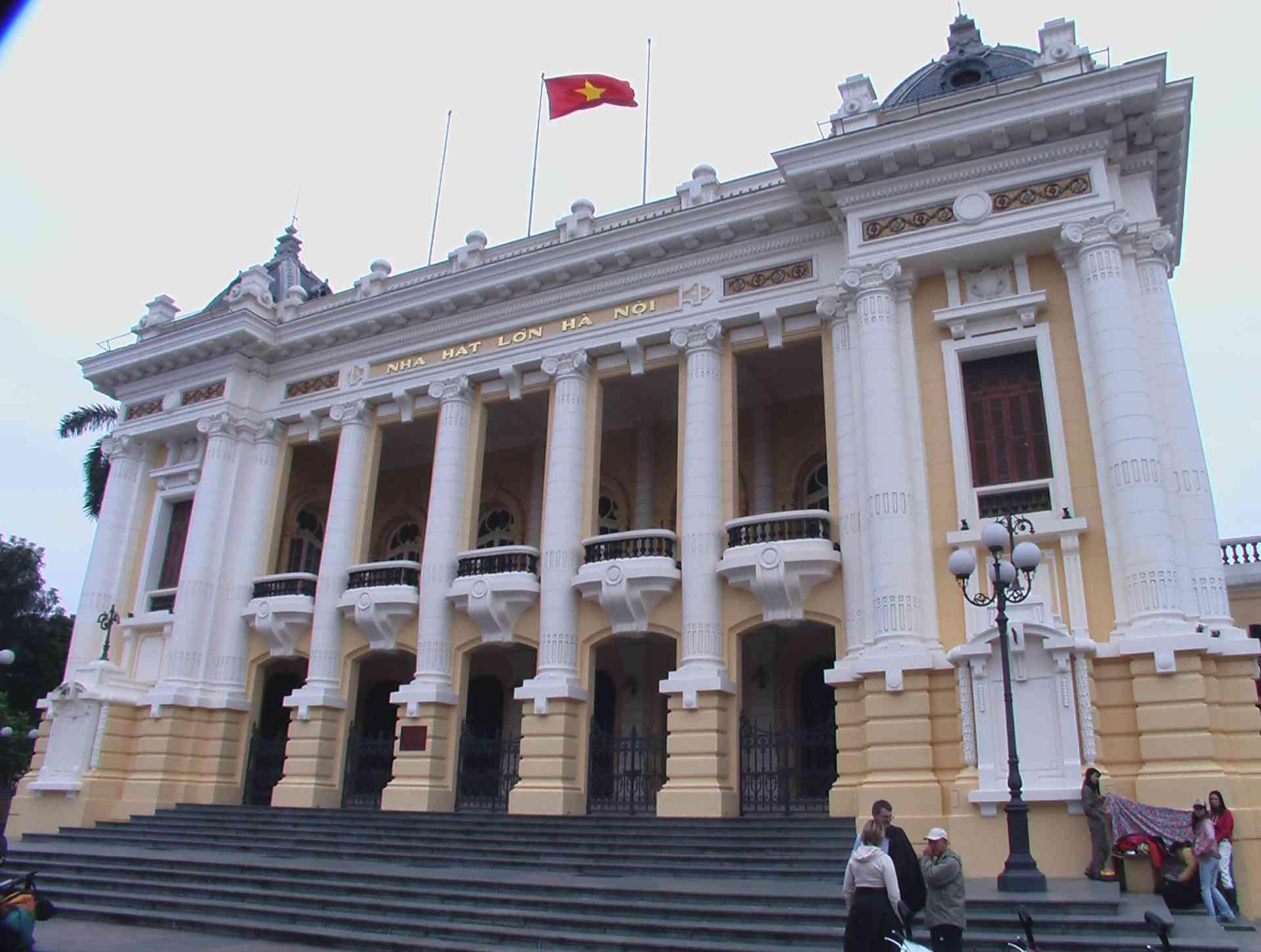 Hanoi Opera House, Vietnam by Karin Jones