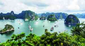 Halong Bay, Vietnam by Priscilla Aster