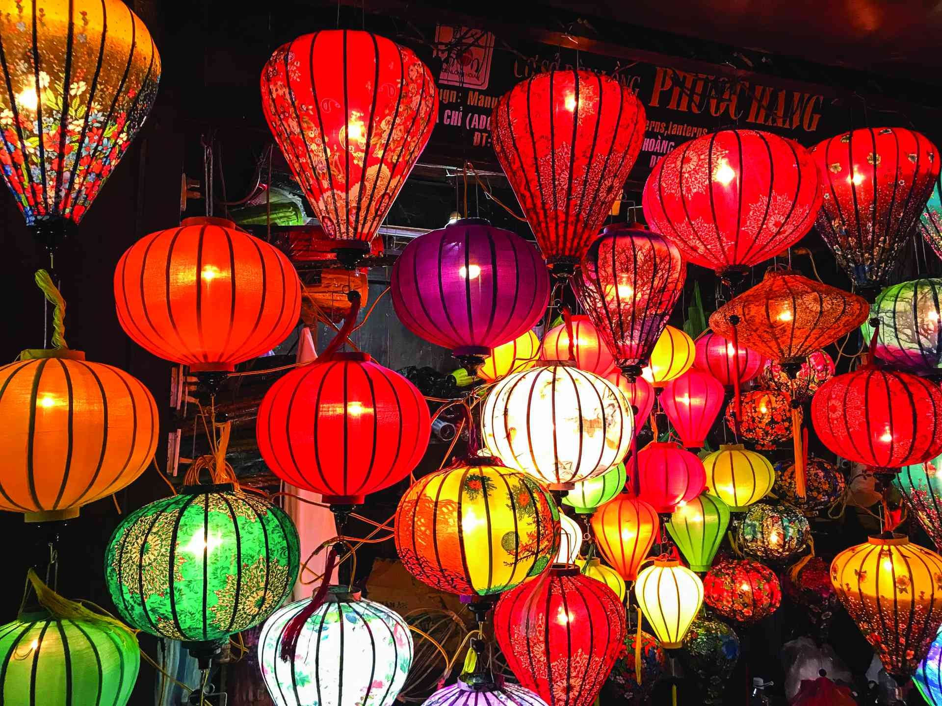 Lanterns in Hoi An, Vietnam by Zoe Francis