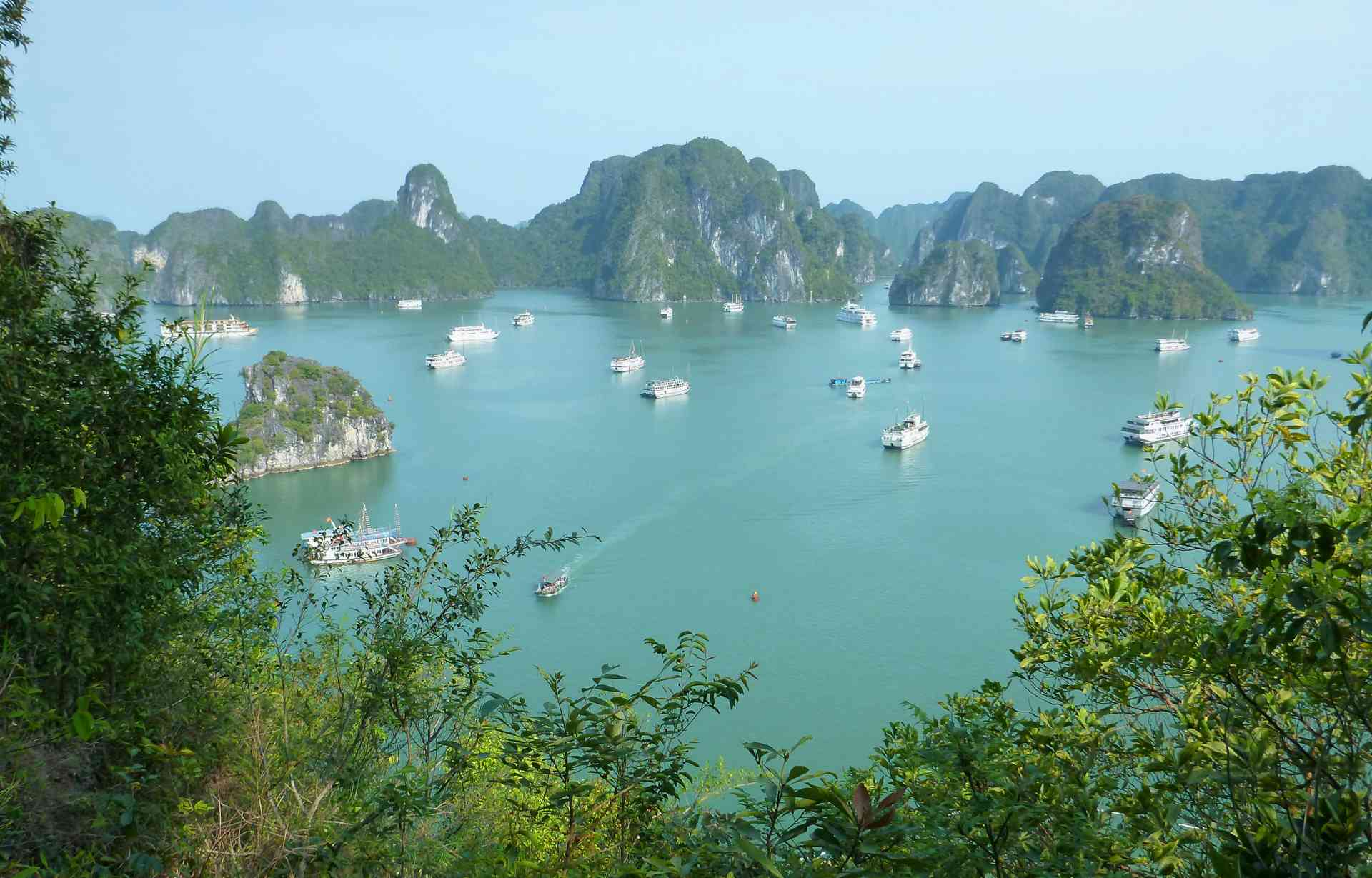 Halong Bay, Vietnam by Nick Lowes