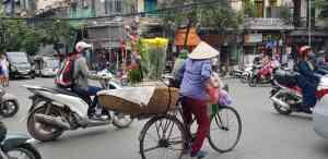 The streets of Hanoi, Vietnam by Dennis Bunnik