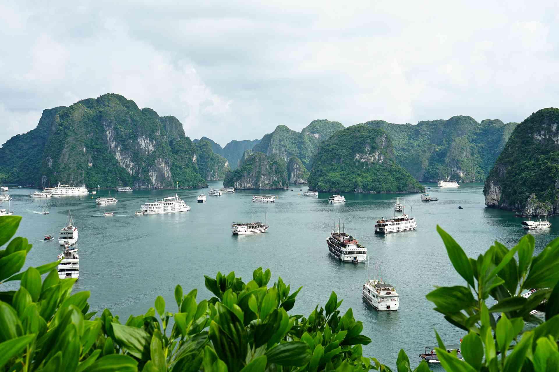 Halong Bay, Vietnam by Priscilla Aster