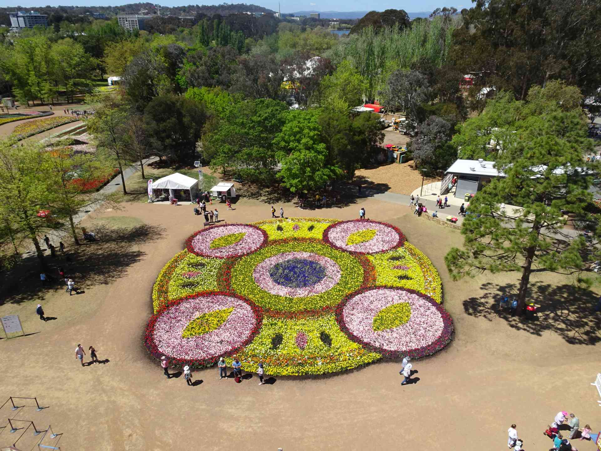 Floriade display, Canberra by Glenis Solly