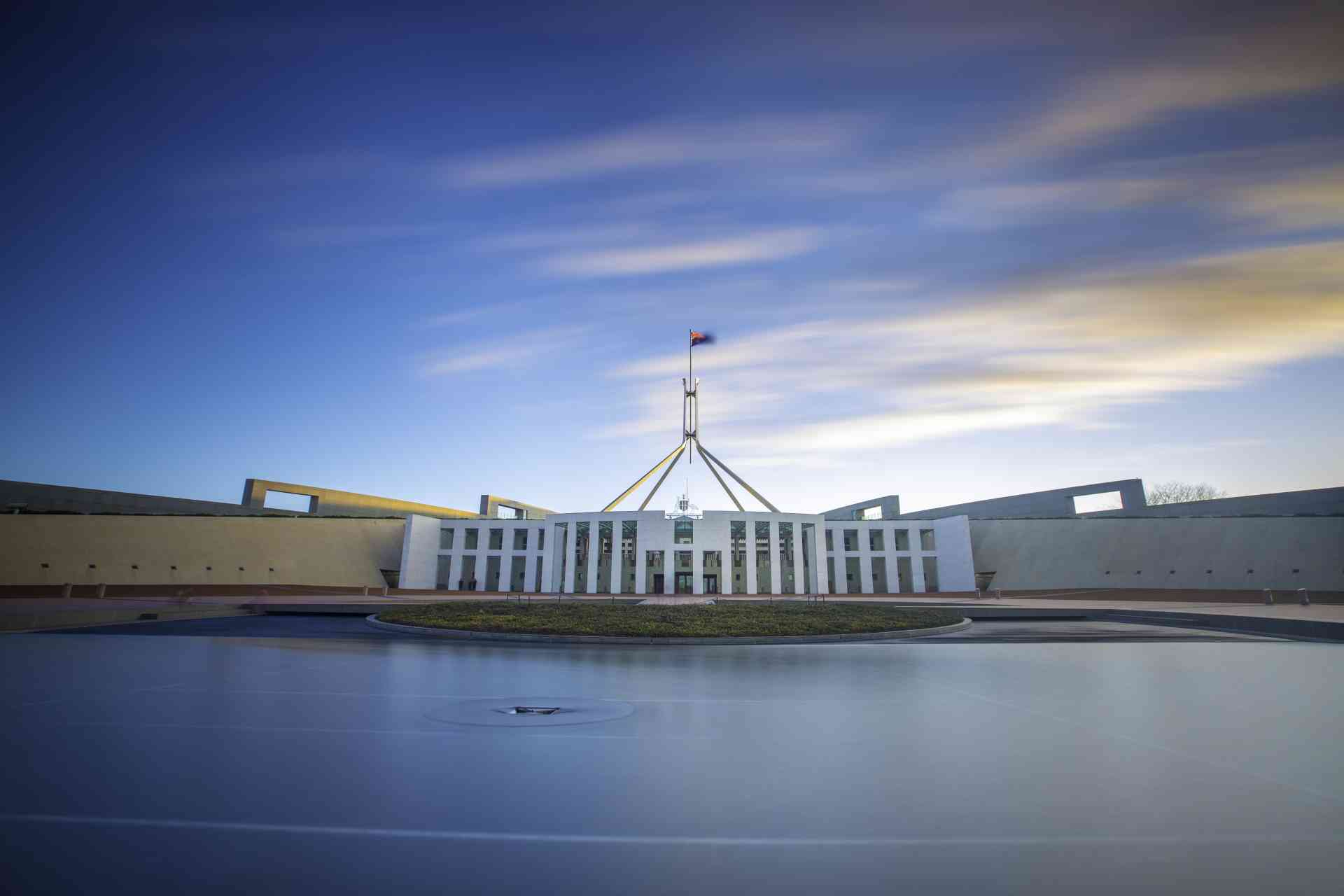 Parliament House, Canberra by VisitCanberra