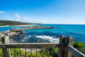 Bar Rock Lookout, New South Wales by Eurobodalla Coast Tourism