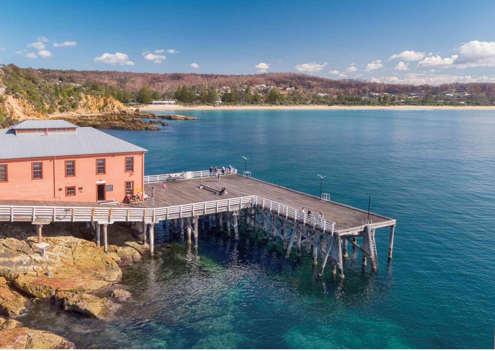 The Wharf Local, Tathra by Destination NSW