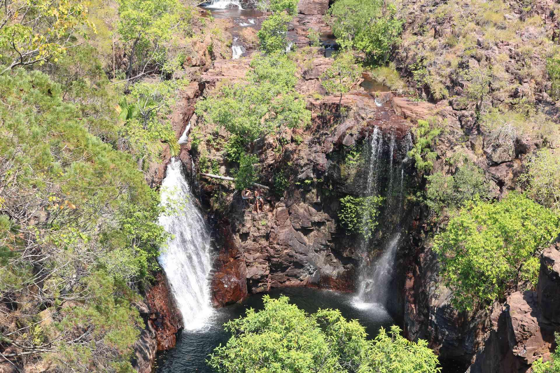 Karrimurra (Florence Falls) in Litchfield National Park, Northern Territory, Australia by Kristi Rutten