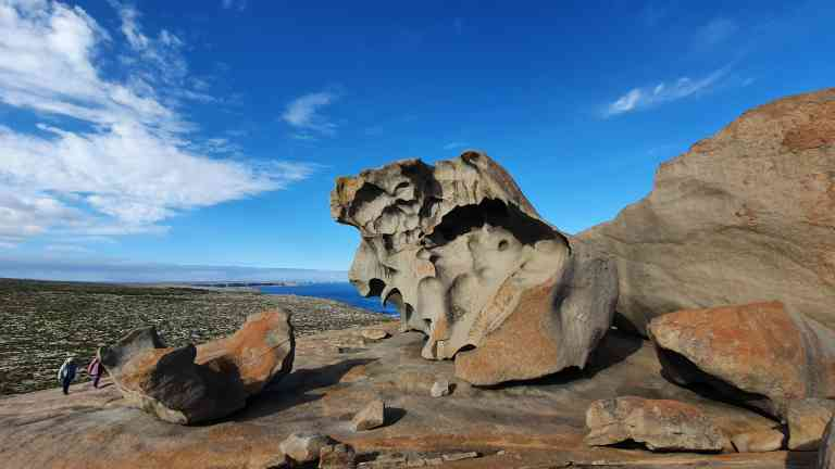 Remarkable Rocks, Kangaroo Island by Dennis Bunnik