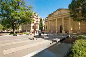 Art Gallery of South Australia, Adelaide by Adam Bruzzone, South Australian Tourism Commission