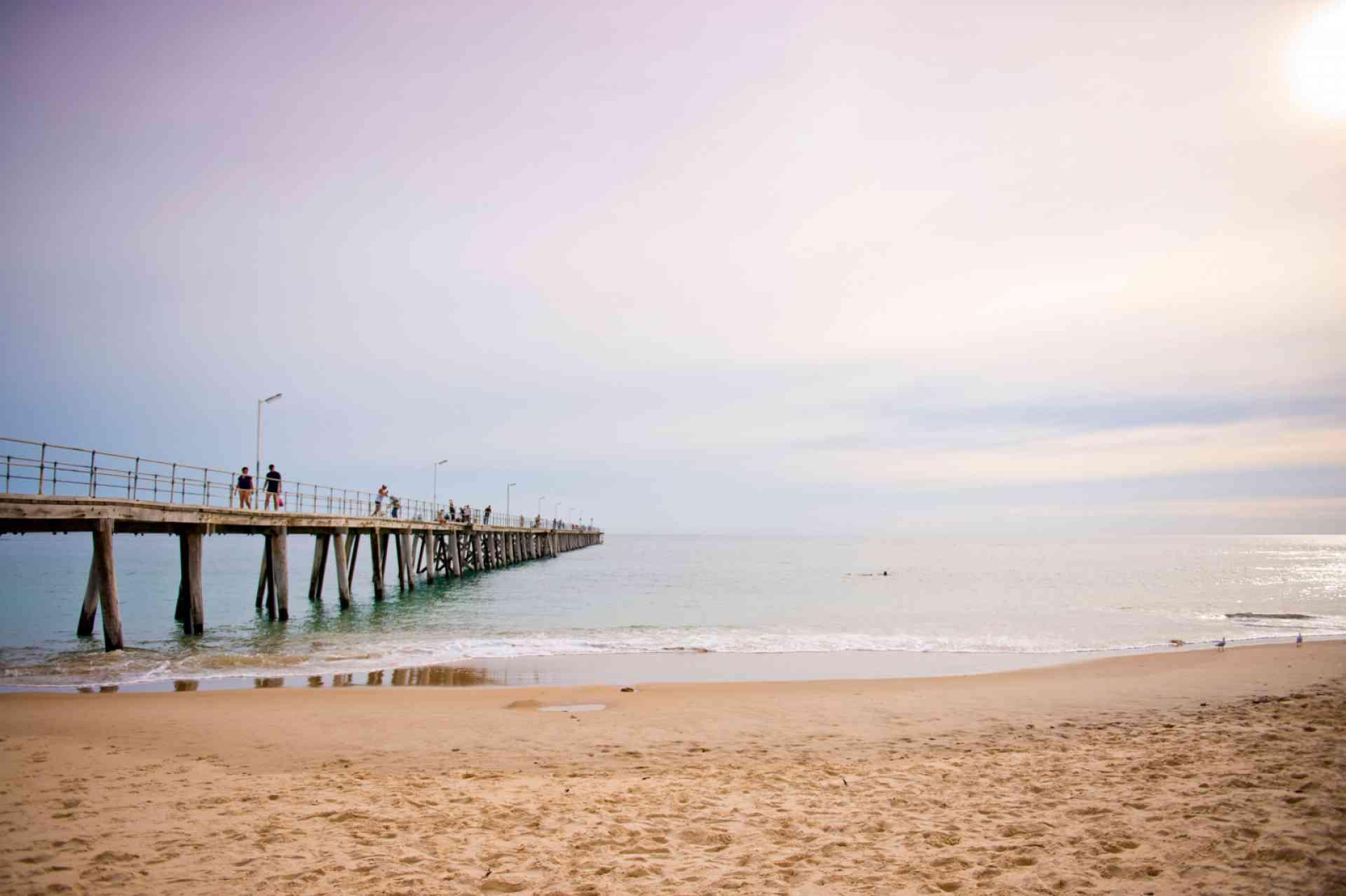 Port Noarlunga Jetty by Adam Bruzzone, South Australian Tourism Commission