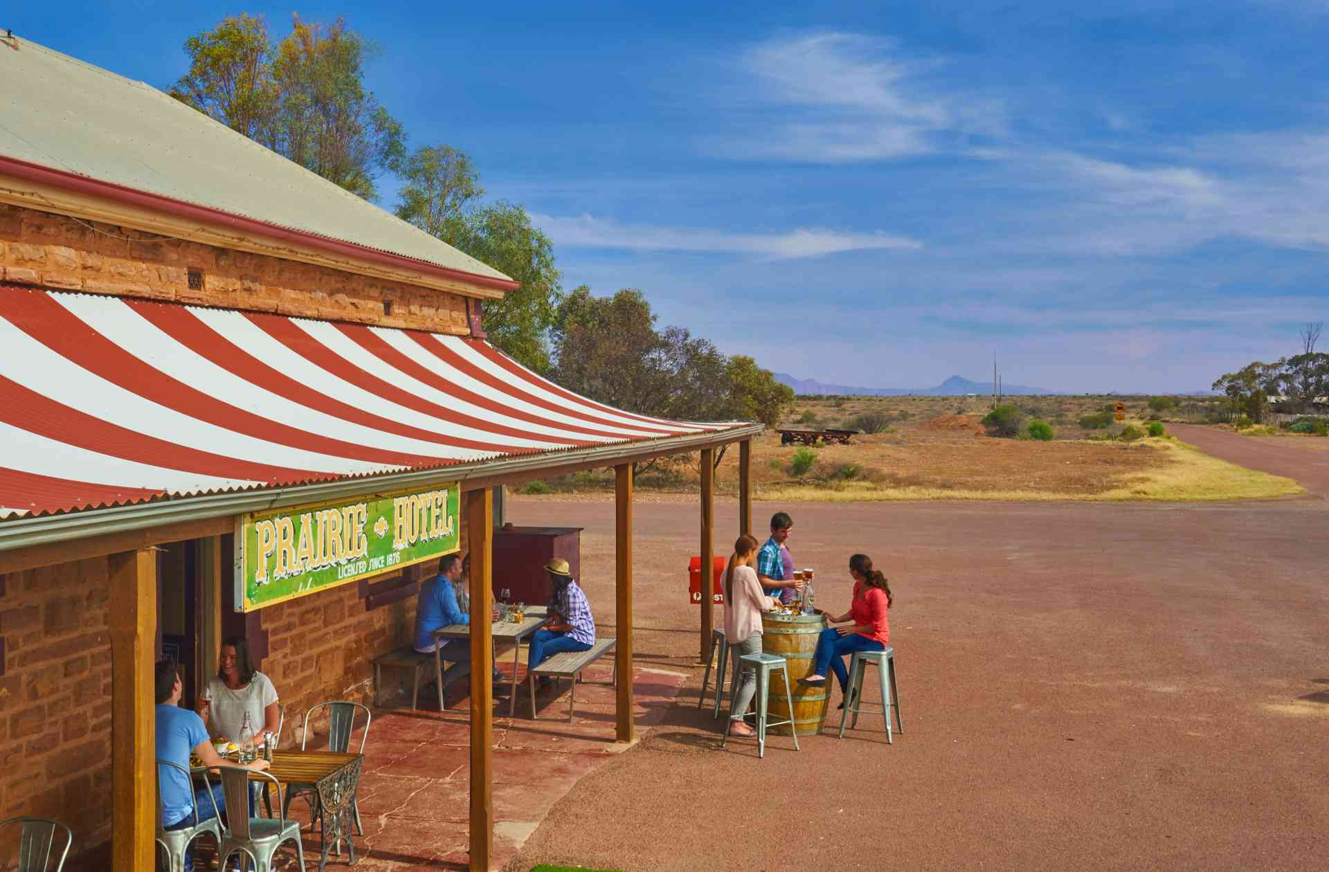 Prairie Hotel, Flinders Ranges by Adam Bruzzone, South Australian Tourism Commission