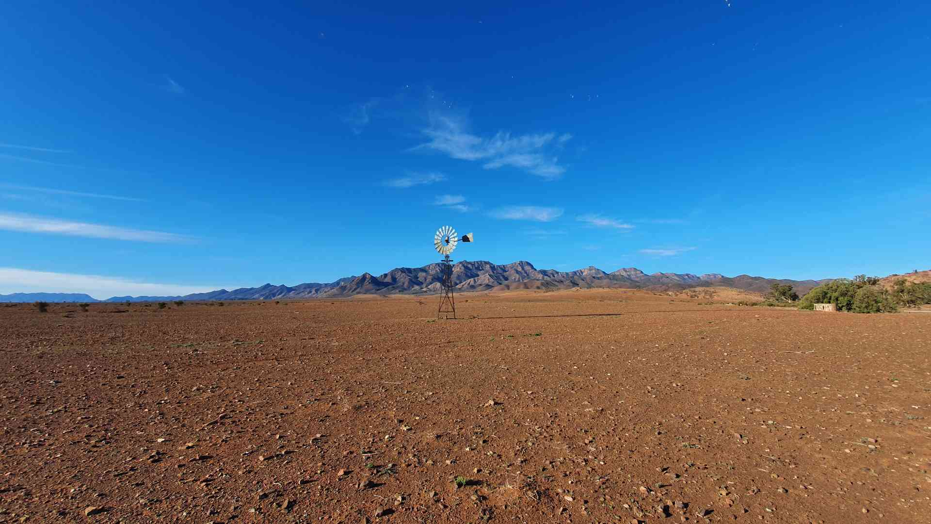 The Flinders Ranges, South Australia by Dennis Bunnik