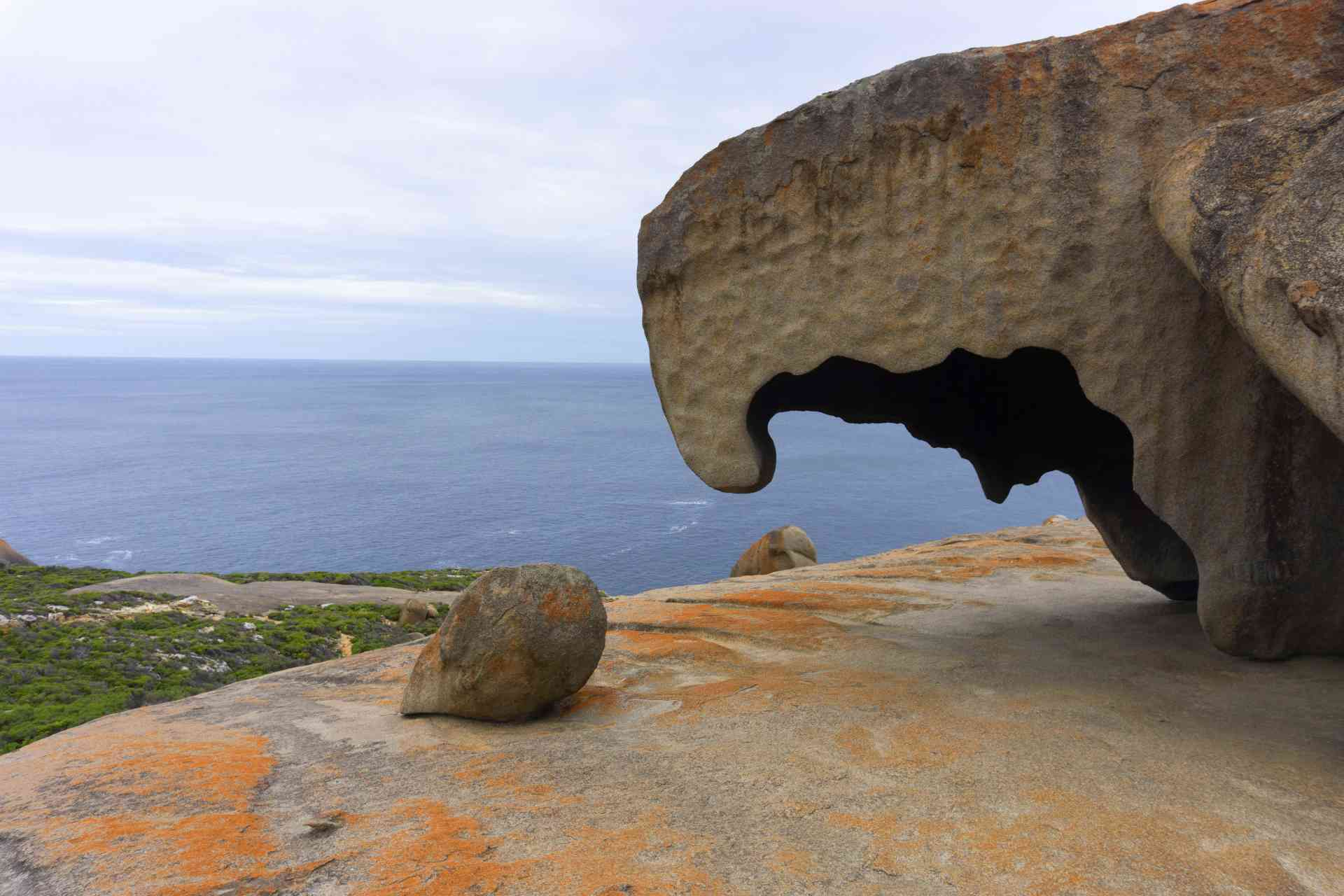 Remarkable Rocks, Kangaroo Island by Laura Roemekso