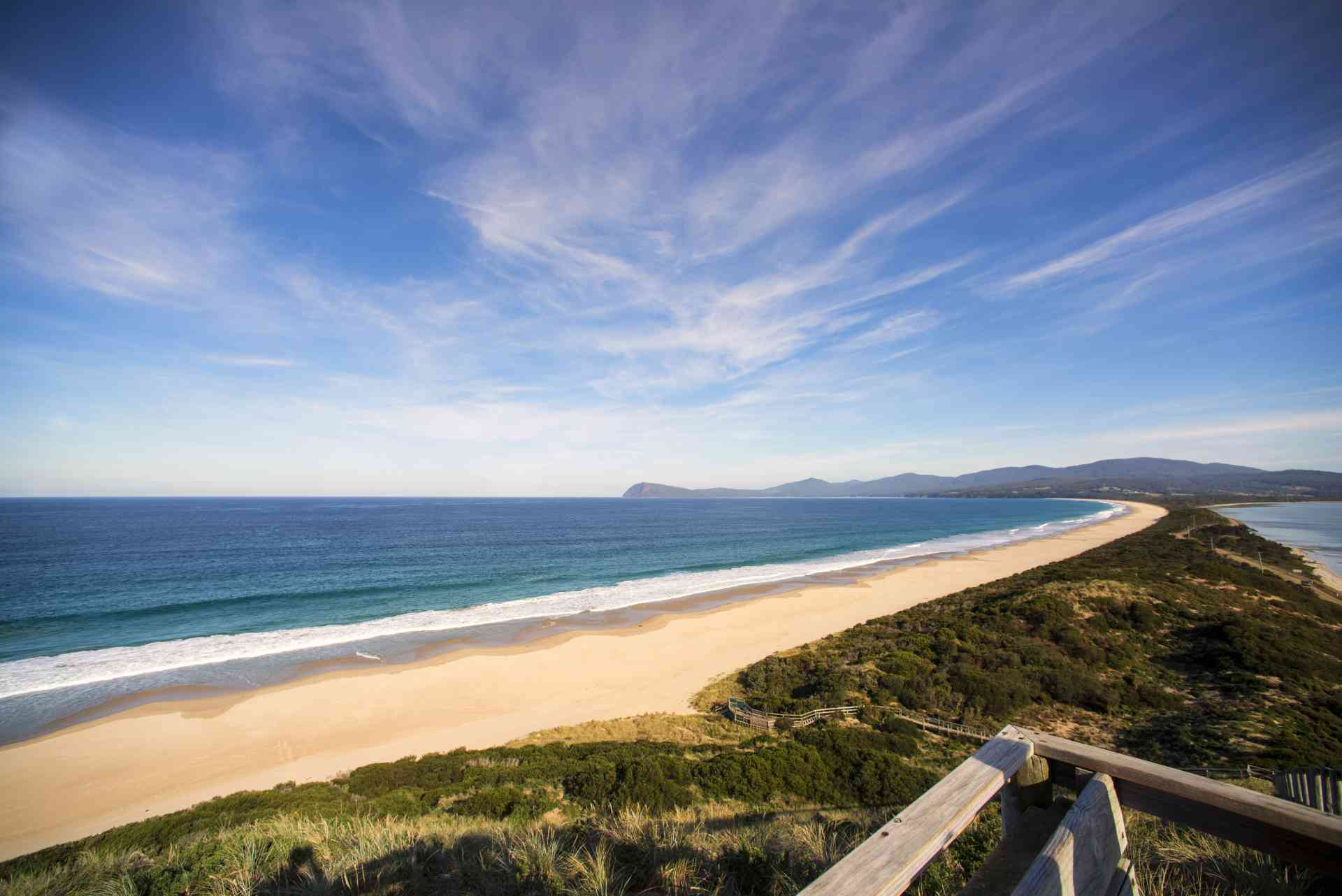 Neck Beach, Bruny Island, Tasmania by Tourism Tasmania & Rob Burnett
