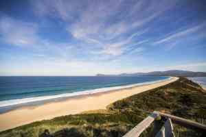 Neck Beach, Bruny Island, Tasmania by Tourism Tasmania & Rob Burnett