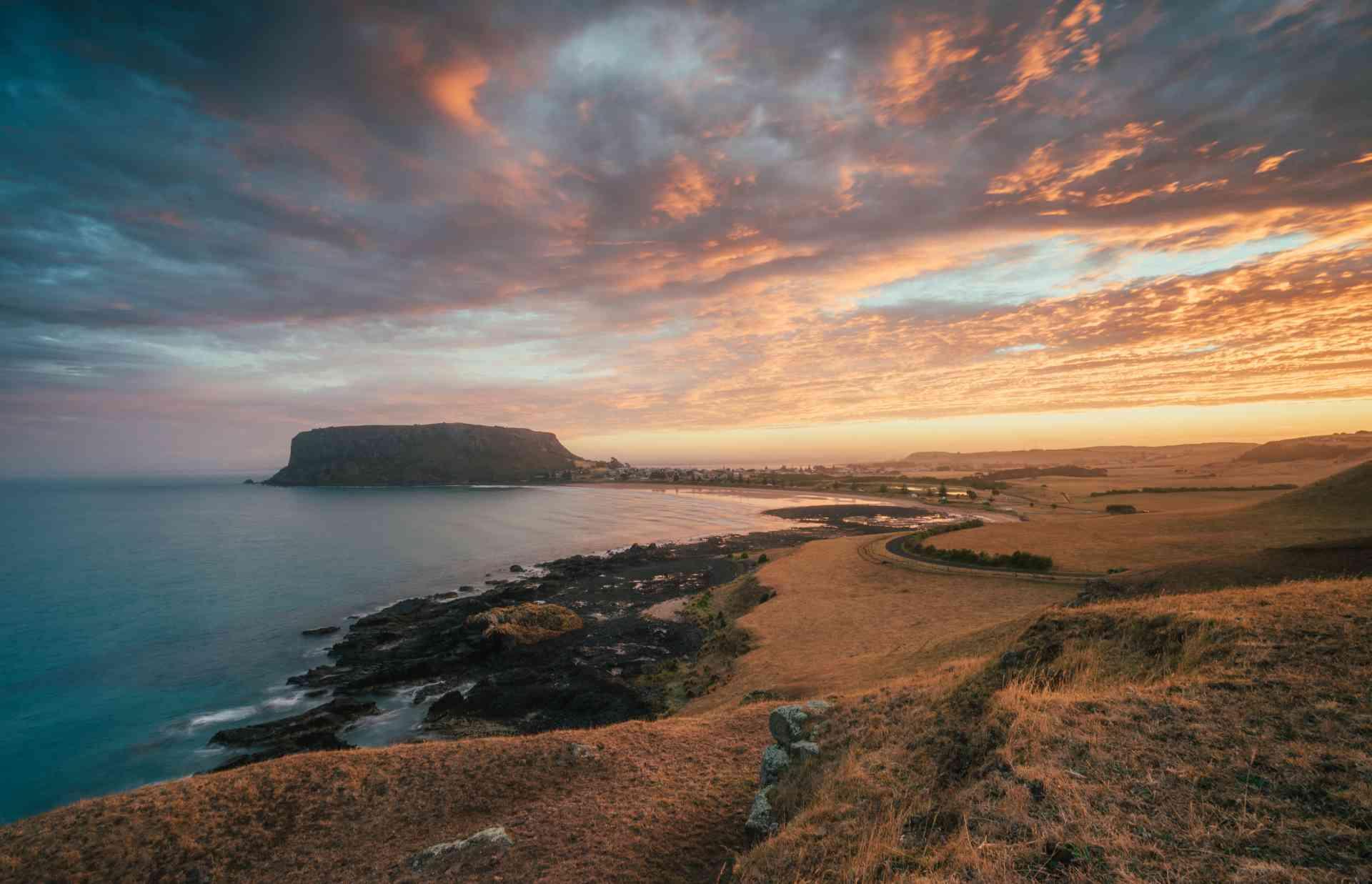 The Nut, Stanley, Tasmania by Tourism Tasmania and Jason Charles Hill