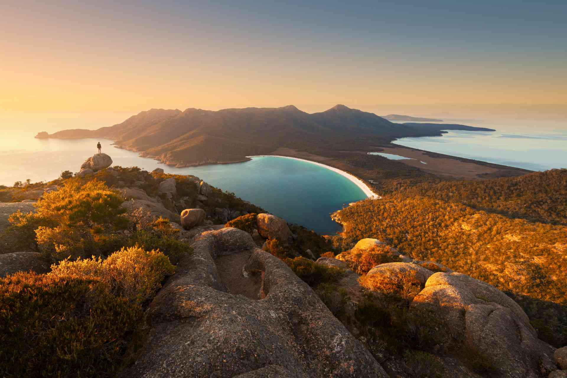 Wineglass Bay, Tasmania by Matt Donovan