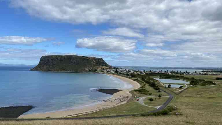 The Nut, Stanley, Tasmania by Marion Bunnik