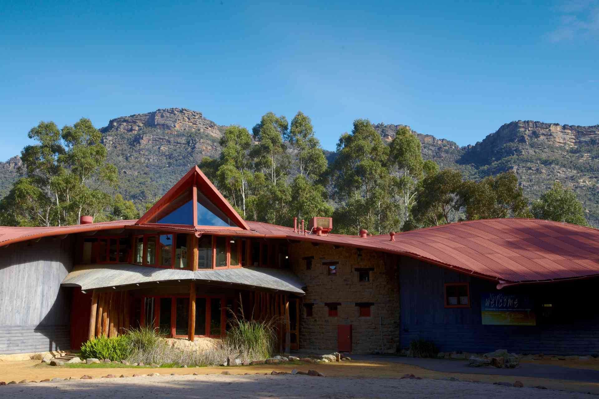 Brambuk the National Park and Cultural Centre, Halls Gap, Victoria by Visit Victoria