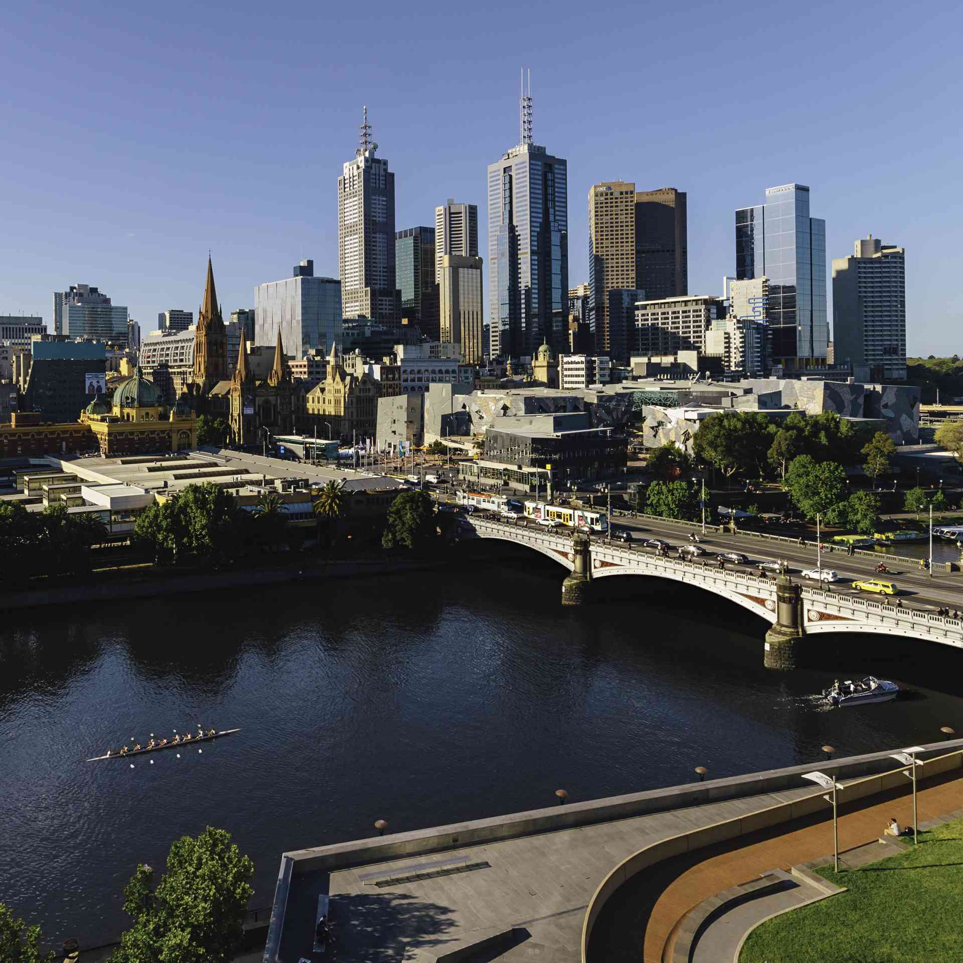 The city of Melbourne, Victoria by Visit Victoria