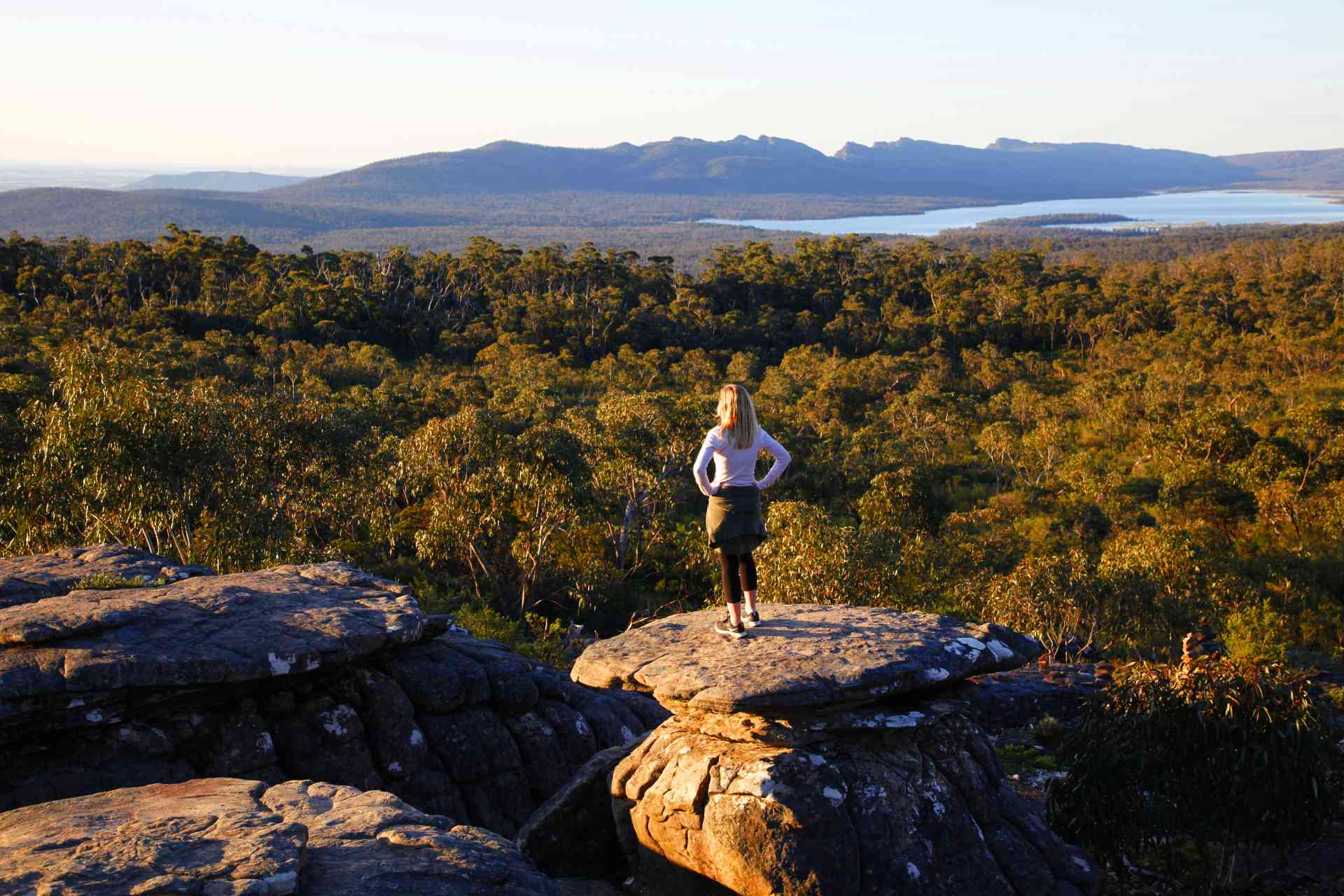 Reed Lookout, Grampians National Park, Victoria by Visit Victoria