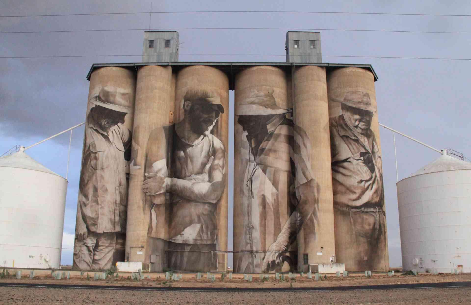 Silo Art in Brim, Victoria by Visit Victoria
