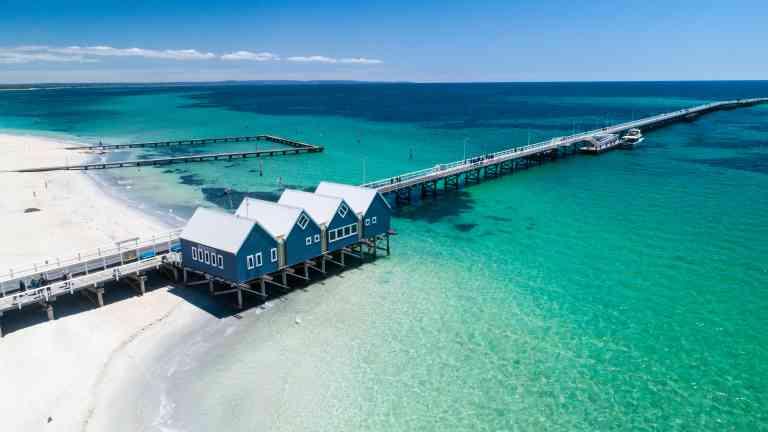 The Busselton Jetty, Western Australia by Tourism Western Australia