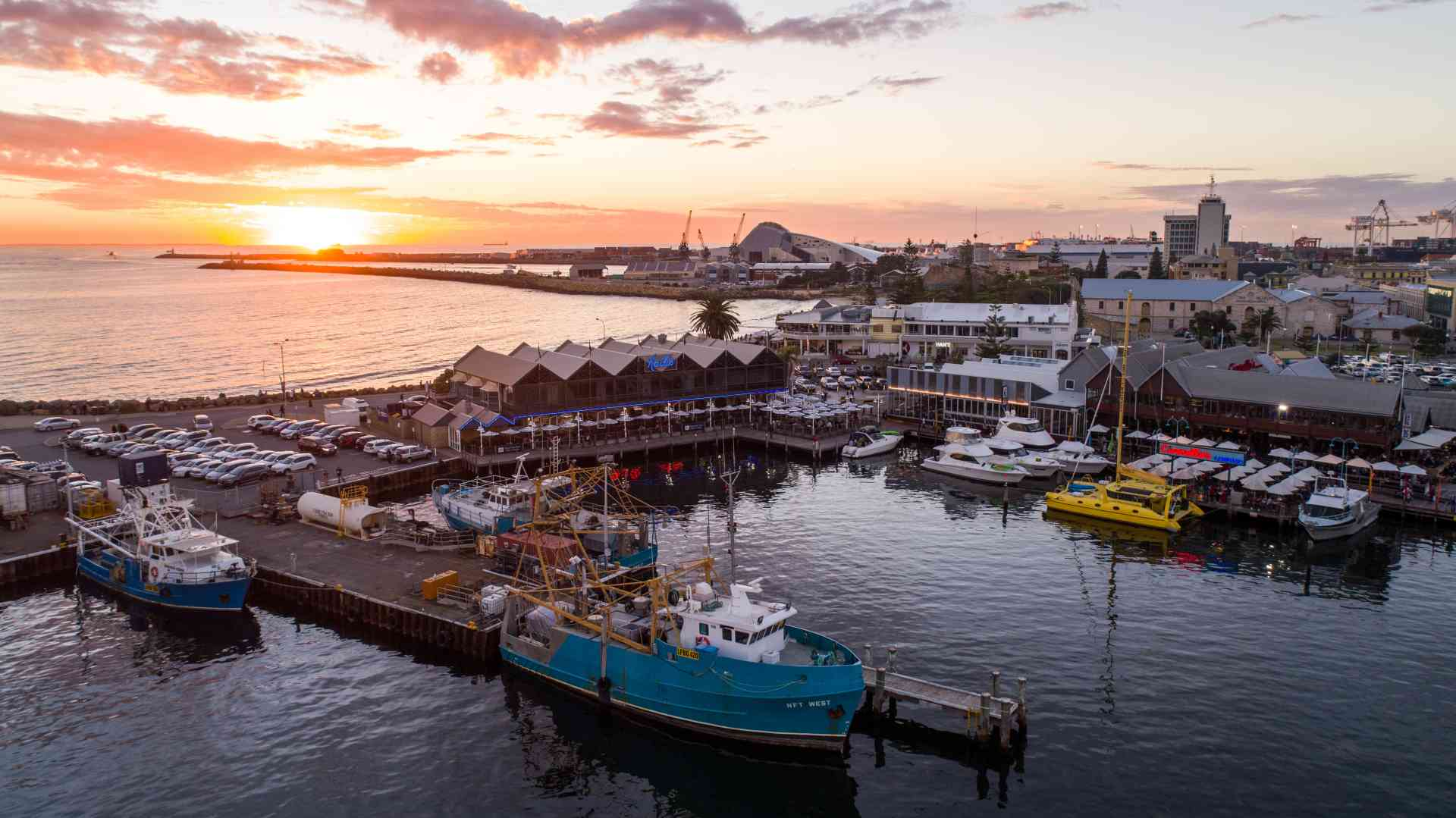 Fremantle Fishing Boat Harbour, Western Australia