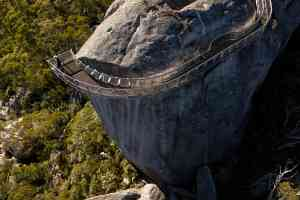 Granite Skywalk, Castle Rock in Porongurup National Park, Western Australia