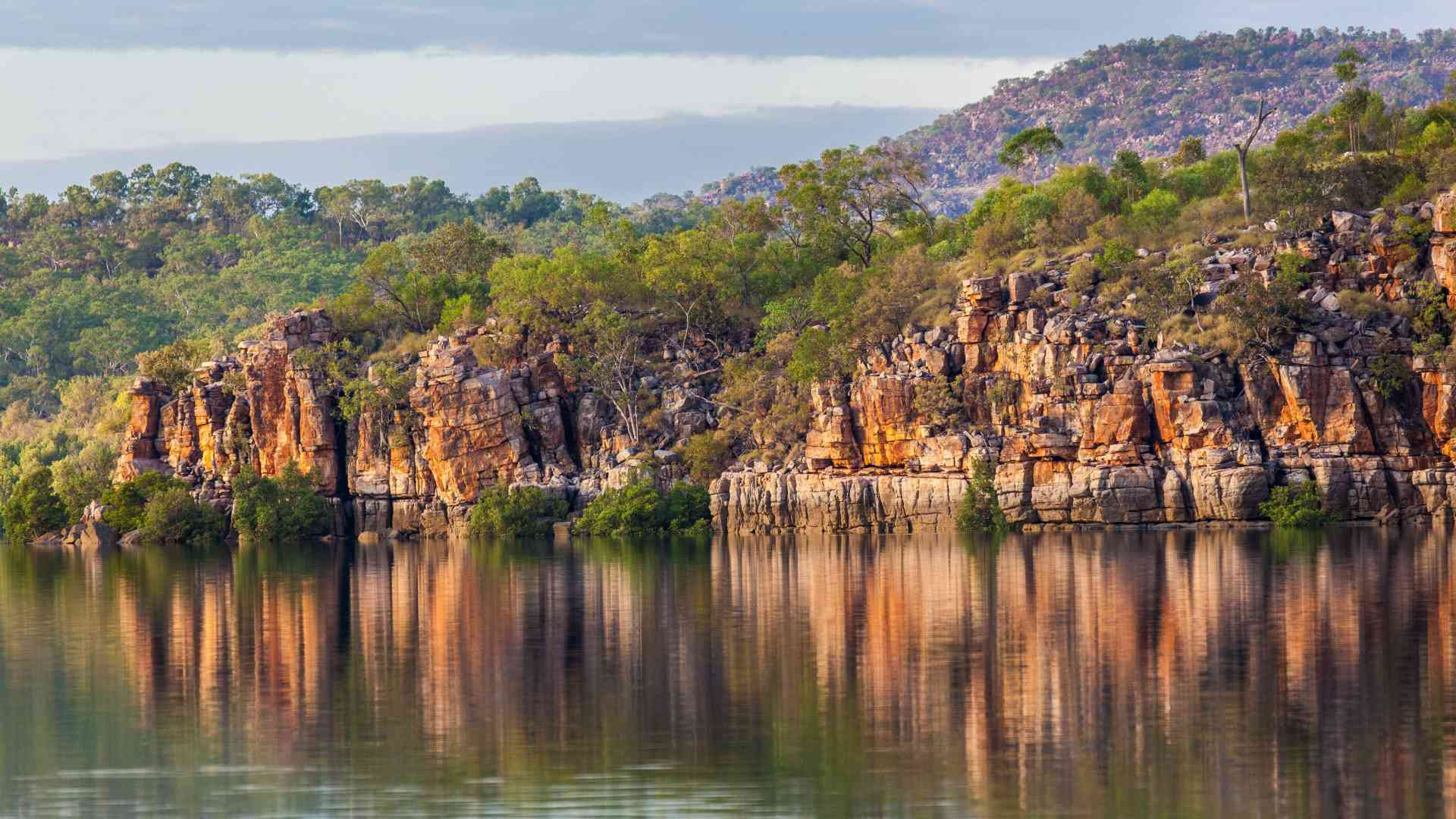 Kimberley water reflections, Western Australia by Quentin Chester (Aurora Expeditions)