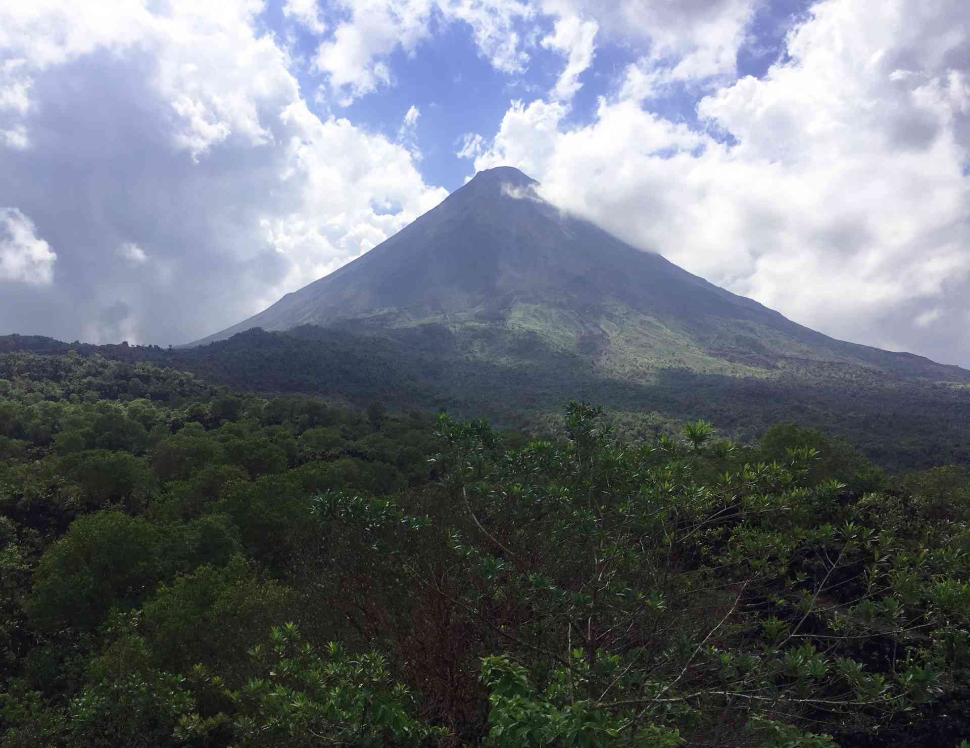 Arenal Volcano, Costa Rica by Zoe Francis
