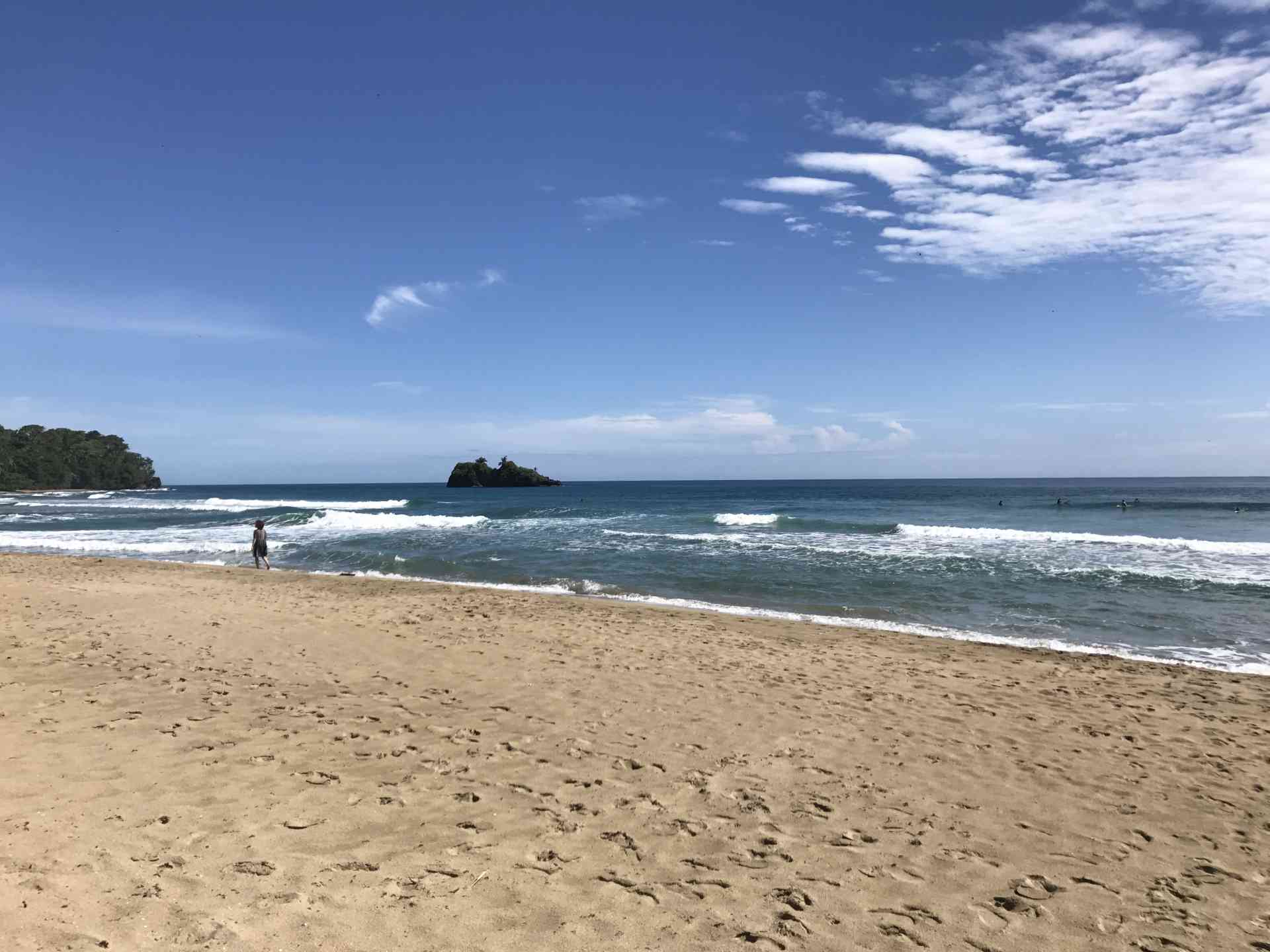 Costa Rican beach by Zoe Francis