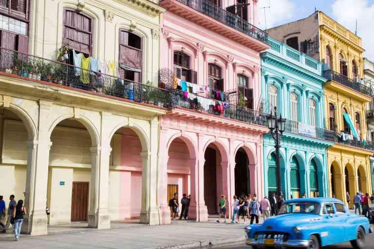 A Havana Street, Cuba by Grahame Meale