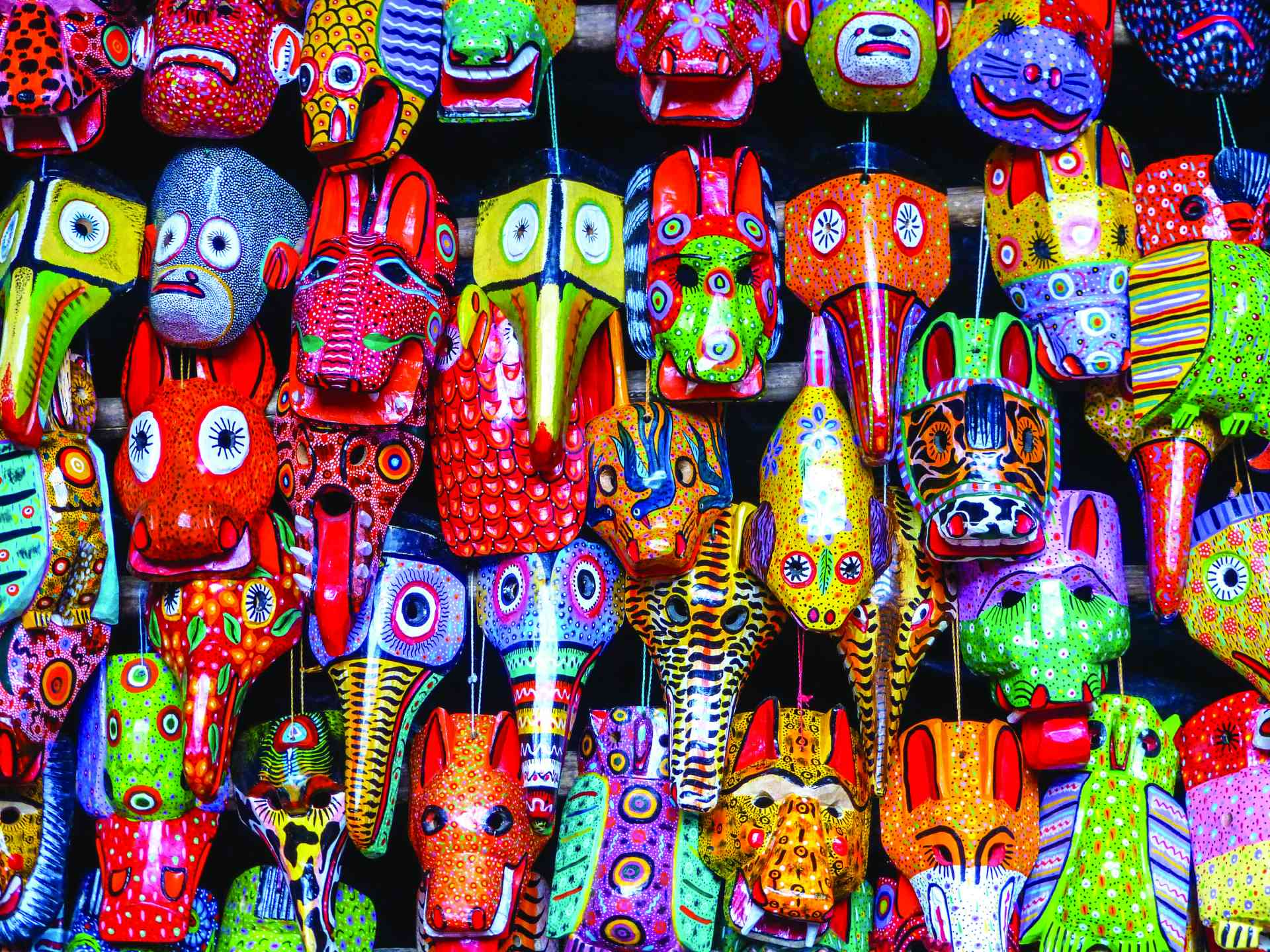 Chichicastenango Market, Guatemala by Marion Bunnik