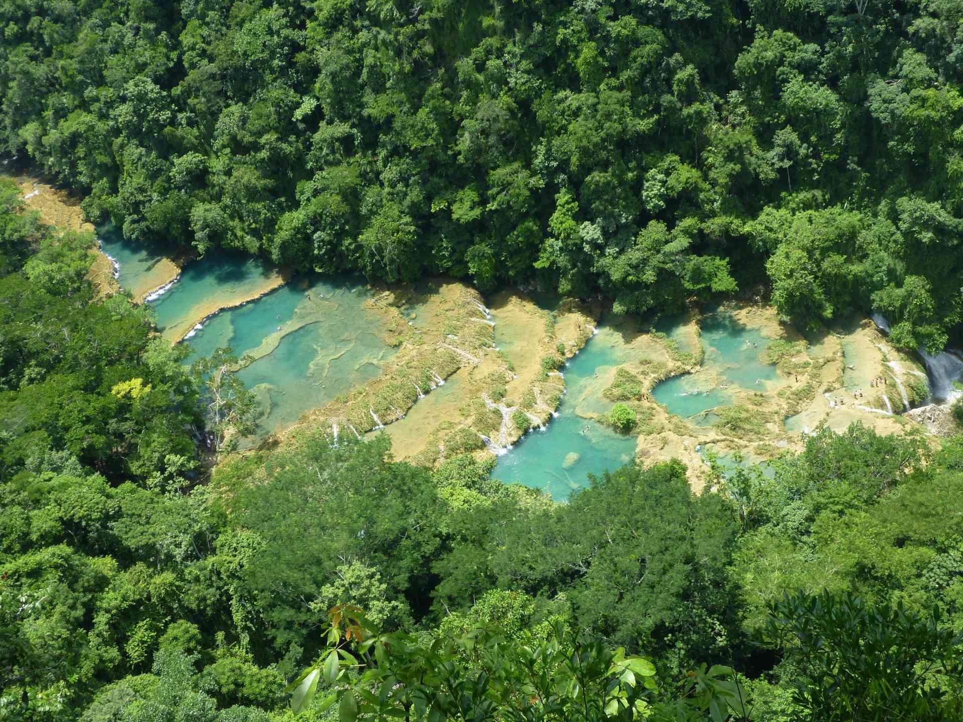 Semuc Champey, Guatemala by Matt Baldock
