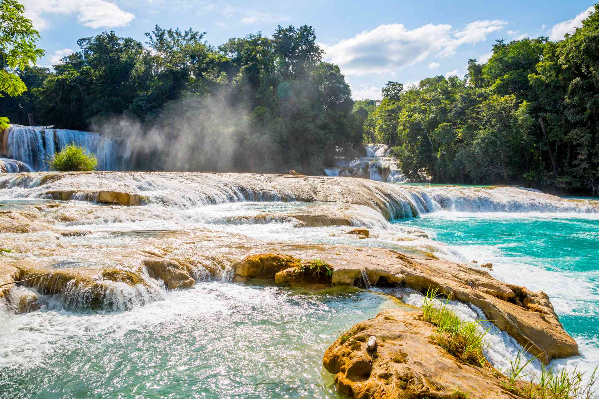 Agua Azul, Mexico by Graham Meale