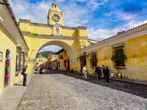 Santa Catalina Arch, Antigua, Guatemala by Jeremy van Heerde