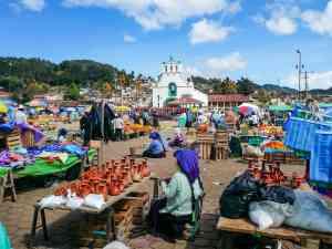 San Juan Chamula, Mexico by Marion Bunnik