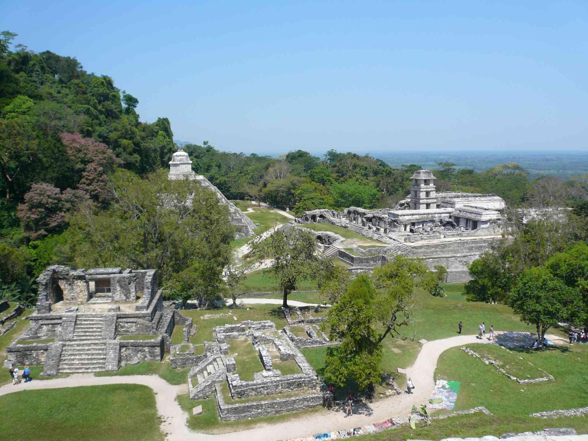 Palenque, Mexico by Marion Bunnik