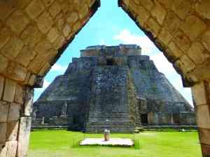 Uxmal, Mexico by Marion Bunnik